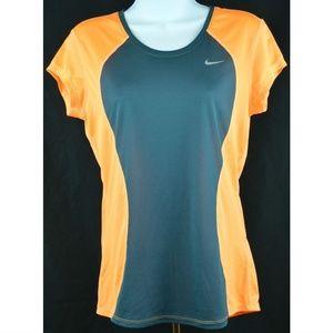 Nike Racer Speed Short Sleeve Black Hyper Orange